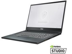 "MSI WS Series WS66 10TKT-081 Mobile Workstation Intel Core i9 10th Gen 10980HK (2.40 GHz) 64 GB Memory 1 TB NVMe SSD NVIDIA Quadro RTX 3000 15.6"" Touchscreen Windows 10 Pro 64-bit"