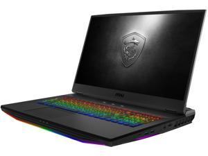 "MSI GT Series GT76 Titan DT 10SGS-055 17.3"" 4K/UHD Intel Core i9 10th Gen 10900K (2.40 GHz) NVIDIA GeForce RTX 2080 SUPER 64 GB Memory 2 TB SSD Windows 10 Pro 64-bit Gaming Laptop"