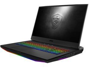 "MSI GT Series GT76 Titan DT 10SGS-055 17.3"" 4K/UHD Intel Core i9 10th Gen 10900K (2.40 GHz) NVIDIA GeForce RTX 2080 SUPER 64 GB Memory 2 TB SSD Windows 10 Pro 64-bit Gaming Laptop"