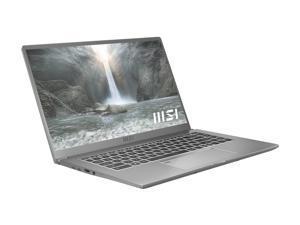 """MSI Laptop Prestige 15 A11SCX-217 Intel Core i7 11th Gen 1185G7 (3.00 GHz) 32 GB Memory 1 TB NVMe SSD NVIDIA GeForce GTX 1650 Max-Q 15.6"""" 4K/UHD Windows 10 Pro 64-bit"""