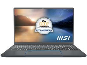 "MSI Laptop Prestige 14 EVO A11M-220 Intel Core i7 11th Gen 1185G7 (3.00 GHz) 16 GB LPDDR4X Memory 512 GB NVMe SSD Intel Iris Xe Graphics 14.0"" Windows 10 Home 64-bit"
