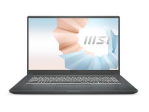 "MSI Laptop Modern 15 A11SB-059 Intel Core i7 11th Gen 1165G7 (2.80 GHz) 32 GB Memory 1 TB NVMe SSD NVIDIA GeForce MX450 15.6"" Windows 10 Pro 64-bit"