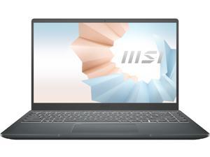 "MSI Laptop Modern 14 B11SB-083 Intel Core i7 11th Gen 1165G7 (2.80 GHz) 16 GB Memory 1 TB NVMe SSD NVIDIA GeForce MX450 14.0"" Windows 10 Pro 64-bit"
