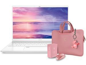 """MSI Laptop Prestige 14 A11SCX-280CA Intel Core i7 11th Gen 1185G7 (3.00 GHz) 16 GB LPDDR4X Memory 512 GB PCIe SSD NVIDIA GeForce GTX 1650 Max-Q 14.0"""" Windows 10 Home 64-bit"""
