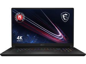 "MSI GS Series GS76 Stealth 11UH-078 17.3"" 4K/UHD Intel Core i9 11th Gen 11900H (2.50 GHz) NVIDIA GeForce RTX 3080 Laptop GPU 64 GB Memory 2 TB NVMe SSD Windows 10 Pro 64-bit Gaming Laptop"