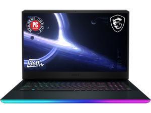 "MSI GE Series GE76 Raider 11UH-245 17.3"" 360 Hz IPS Intel Core i7 11th Gen 11800H (2.30 GHz) NVIDIA GeForce RTX 3080 Laptop GPU 32 GB Memory 1 TB NVMe SSD Windows 10 Home 64-bit Gaming Laptop"