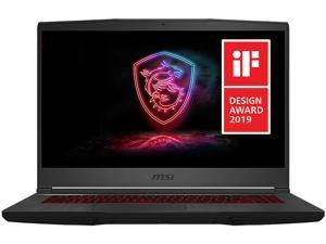 "MSI GF Series GF65 Thin 10SDR-1273 15.6"" 120 Hz IPS Intel Core i7 10th Gen 10750H (2.60 GHz) NVIDIA GeForce GTX 1660 Ti 8 GB Memory 512 GB NVMe SSD Windows 10 Home 64-bit Gaming Laptop"