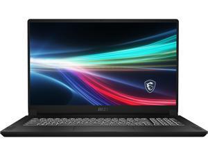 "MSI Laptop Creator 17 B11UH-236 Intel Core i9 11th Gen 11900H (2.50 GHz) 32 GB Memory 2 TB NVMe SSD NVIDIA GeForce RTX 3080 Laptop GPU 17.3"" 4K/UHD Windows 10 Pro 64-bit"