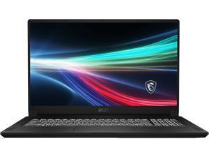 "MSI Laptop Creator 17 B11UH-241 Intel Core i9 11th Gen 11900H (2.50 GHz) 32 GB Memory 1 TB NVMe SSD NVIDIA GeForce RTX 3080 Laptop GPU 17.3"" 4K/UHD Windows 10 Pro 64-bit"