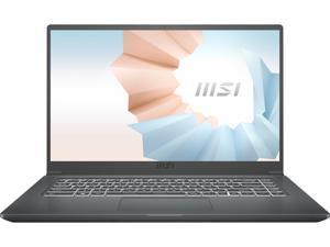 "MSI Laptop Modern 15 A5M-072 AMD Ryzen 7 5000 Series 5700U (1.80 GHz) 8 GB Memory 512 GB NVMe SSD AMD Radeon Graphics 15.6"" Windows 10 Home 64-bit"