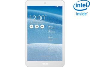 """ASUS ME181C-A1-WH Intel Atom Z3745 1GB Memory 16GB eMMC 8.0"""" Touchscreen Tablet Android 4.4 (KitKat)"""