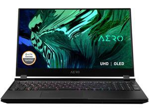 "GIGABYTE AERO 15 - 15.6"" 4K/UHD OLED - Intel Core i9-10980HK - NVIDIA GeForce RTX 3080 Laptop GPU 8 GB GDDR6 - 64 GB Memory - 2 TB PCIe SSD - Windows 10 Pro - Gaming Laptop (AERO 15 OLED YC-9US5760SP)"