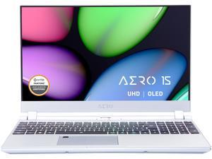"GIGABYTE AERO 15 OLED KC-8US5130VP 15.6"" 4K/UHD OLED Intel Core i7 10th Gen 10870H (2.20 GHz) NVIDIA GeForce RTX 3060 Laptop GPU 16 GB Memory 512 GB PCIe SSD Windows 10 Pro 64-bit Gaming Laptop"