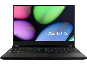 """GIGABYTE AERO 15 - 15.6"""" - Intel Core i7-10750H - GeForce RTX 2060 - 16 GB Memory - 512 GB SSD - Windows 10 Home - Gaming Laptop (AERO 15 KB-7US2130SH)"""