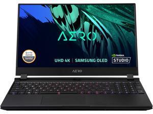 "GIGABYTE AERO 15 OLED YD - 15.6"" UHD 4K AMOLED, Intel Core i7 11th Gen 11800H, NVIDIA GeForce RTX 3080, 8GB GDDR6, 16GB RAM, 1TB SSD, Win10 Pro, Creator & Gaming Laptop (AERO 15 OLED YD-73US624SP)"