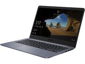 "ASUS Laptop (French Bilingual) E406MA-QP2S-CB Intel Pentium Silver N5000 (1.10 GHz) 4 GB Memory 128 GB eMMC SSD Intel UHD Graphics 605 14.0"" Windows 10 Home 64-Bit"