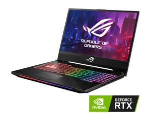 "ASUS - Gaming Laptop - 15.6"" 144 Hz IPS-type - Intel Core i7-8750H - NVIDIA GeForce RTX 2070 - 16 GB RAM - 512 GB SSD - RGB Keyboard - Windows 10 - ROG Strix Scar II (GL504GW-DS74)"