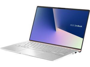 "ASUS ZenBook 14 Ultra-Slim Laptop 14"" Full HD NanoEdge Bezel, Intel Core i5-8265U (Whiskey Lake), 8 GB RAM, 256 GB PCIe SSD, Backlit KB, NumberPad, Windows 10 Pro - UX433FA-XH54, Icicle Silver"