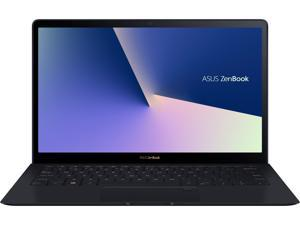 "ASUS ZenBook S, 13.3"" UHD 4K Touch, 8th Gen Whiskey Lake Intel Core i7-8565U Processor, 16GB RAM, 512GB PCIe SSD, FP Sensor, Thunderbolt, Windows 10 Professional - UX391FA-XH74T Deep Dive Blue laptop"