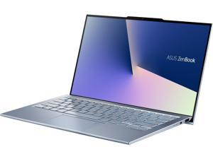 "ASUS ZenBook S13 Ultra Thin & Light Laptop 13.9"" FHD, Intel Core i7-8565U CPU, GeForce MX150, 8 GB RAM, 512 GB PCIe SSD, Windows 10 Pro, Silver Blue, UX392FN-XS71"