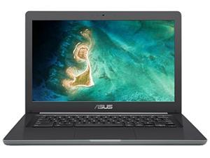 "ASUS C403NA-Q2-CB French Bilingual Chromebook Intel Celeron N3350 (1.1 GHz) 4 GB LPDDR4 Memory 32 GB eMMC SSD 14.0"" Chrome OS"