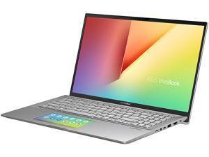 "ASUS VivoBook S15 S532 Thin & Light Laptop, 15.6"" FHD, Intel Core i5-8265U CPU, 8 GB DDR4 RAM, PCIe NVMe 512 GB SSD, Windows 10 Home, S532FA-DB55, Transparent Silver"