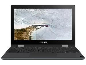 "ASUS C214MA-QS2-CB Canadian Bilingual Chromebook Intel Celeron N4000 (1.10 GHz) 4 GB LPDDR4 Memory 64 GB eMMC 11.6"" Touchscreen Chrome OS"