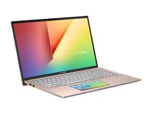 "ASUS VivoBook S15 S532 Thin & Light Laptop, 15.6"" FHD, Intel Core i5-10210U CPU, 8 GB DDR4 RAM, 512 GB PCIe SSD, Windows 10 Home, IR camera, S532FA-DH55-PK, Punk Pink - Metal"