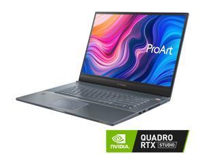 "ASUS ProArt StudioBook Pro 17 Mobile Workstation, 17"" WUXGA NanoEdge Bezel, Intel Xeon E-2276M, 32 GB ECC DDR4, 2 TB PCIe SSD, NVIDIA Quadro RTX 3000, Windows 10 Pro, W700G3T-XS99, Turquoise Gray"