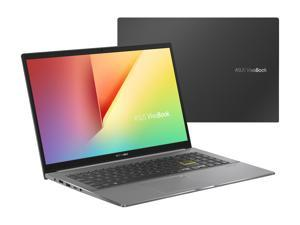"ASUS VivoBook S15 S533 Thin and Light Laptop, 15.6"" FHD, Intel Core i5-10210U CPU, 8 GB DDR4 RAM, 512 GB PCIe SSD, Windows 10 Home, S533FA-DS51, Indie Black"