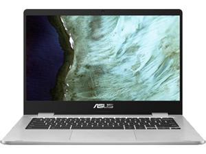 "ASUS C423NA-RH01T-CB Chromebook Intel Celeron N3350 (1.1 GHz) 4 GB LPDDR4 Memory 32 GB eMMC SSD 14.0"" Touchscreen Chrome OS"