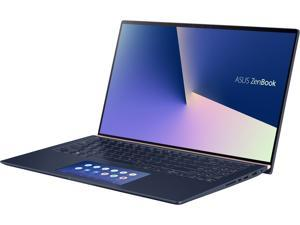 "ASUS ZenBook 15 Ultra-Slim Laptop 15.6"" 4K UHD NanoEdge Bezel, Intel Core i7-10510U, 16GB RAM, 1TB PCIe SSD, GeForce GTX 1650 Max-Q, Innovative ScreenPad 2.0, Windows 10 Pro, UX534FTC-NH77, Royal Blue"
