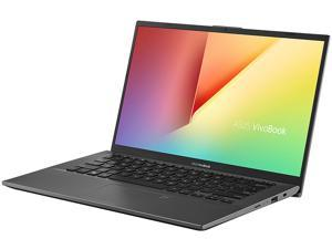 "ASUS VivoBook 14 Laptop, 14"" FHD, AMD Ryzen 7-3700U, AMD Radeon RX Vega 10 Graphics, 8 GB DDR4 RAM, 512 GB PCIe SSD, Backlit KB, Fingerprint, Windows 10 Home, Slate Grey, F412DA-NH77"
