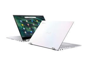 "ASUS Chromebook Flip C436 2-in-1 Laptop, 14"" Touchscreen FHD 4-Way NanoEdge, Intel Core i5-10210U, 512 GB PCIe SSD, Fingerprint, Backlit KB, Wi-Fi 6, Chrome OS, C436FA-DS599T-W, Magnesium-Alloy, White"