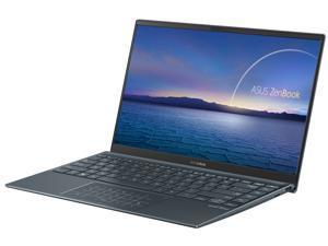 "ASUS ZenBook 14 Ultra-Slim Laptop 14"" Full HD NanoEdge Bezel, Intel Core i7-1065G7, 8 GB RAM, 512 GB PCIe SSD, NumberPad, Thunderbolt 3, Windows 10 Home, Pine Grey, UX425JA-EB71"
