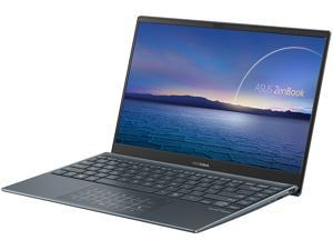 "ASUS ZenBook 13 Ultra-Slim Laptop 13.3"" FHD NanoEdge Bezel Display, Intel Core i5-1035G1, 8 GB LPDDR4X RAM, 256 GB PCIe SSD, NumberPad, Thunderbolt, Wi-Fi 6, Windows 10 Pro, Pine Gray"