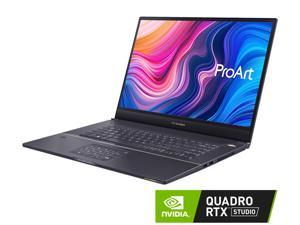 "ASUS ProArt StudioBook Pro 17 Mobile Workstation, 17"" WUXGA NanoEdge Bezel Display, Intel Core i7-9750H, 16GB DDR4, 1TB PCIe SSD, NVIDIA Quadro RTX 3000 Max-Q, Windows 10 Pro, Star Gray, W700G3T-XS77"