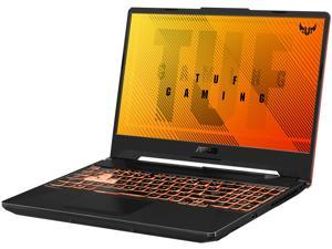 "ASUS TUF Gaming A15 FA506IU-NB53 Laptop - 15.6"" FHD 144Hz, AMD Ryzen 5 4600H, GeForce GTX 1660 Ti, 8 GB DDR4, 512 GB SSD, RGB Keyboard, Windows 10 Home, Bonfire Black"