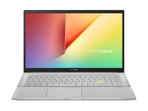 """ASUS VivoBook S15 S533 Thin and Light Laptop, 15.6"""" FHD Display, Intel Core i7-10510U CPU, 16 GB DDR4 RAM, 512 GB PCIe SSD, Fingerprint Reader, Windows 10 Home, Dreamy White, S533FA-DS74-WH"""