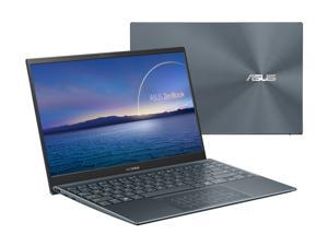 "ASUS ZenBook 14 Ultra-Slim Laptop 14"" Full HD NanoEdge Bezel Display, Intel Core i5-1035G1, 8 GB RAM, 512 GB PCIe SSD, NumberPad, Thunderbolt 3, Windows 10 Home, Pine Grey, UX425JA-EB51"