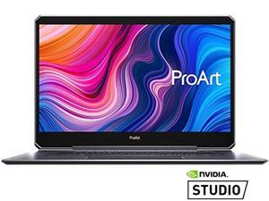 "ASUS ProArt StudioBook One Mobile Workstation Laptop, 15.6"" 4K UHD PANTONE Display, Intel Core i9-9980HK, NVIDIA Quadro RTX 6000, 64 GB DDR4, 1 TB PCIe SSD, Windows 10 Pro, Star Grey, W590G6T-PS99"