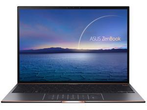 "ASUS ZenBook S Ultra Slim Laptop, 13.9"" 3300x2200 3:2 500nits Touch Display, Intel Evo Platform Core i7-1165G7 CPU, 16GB RAM, 1TB SSD, Thunderbolt 4, TPM, Windows 10 Pro, Jade Black, UX393EA-XB77T"