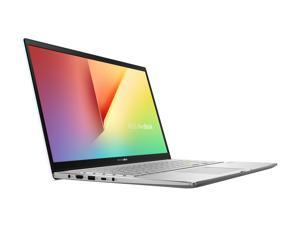 """ASUS VivoBook S15 S533 Thin and Light Laptop, 15.6"""" FHD Display, Intel Core i7-1165G7 CPU, 16 GB DDR4 RAM, 512 GB PCIe SSD, Fingerprint Reader, Wi-Fi 6, Windows 10 Home, Dreamy White, S533EA-DH74-WH"""