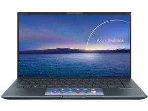 "ASUS Laptop ZenBook UX435EG-XH74 Intel Core i7 11th Gen 1165G7 (2.80 GHz) 16 GB LPDDR4X Memory 512 GB PCIe SSD NVIDIA GeForce MX450 14.0"" Windows 10 Pro 64-bit"