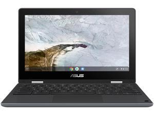 """ASUS Chromebook Flip C214MA-BW0283-3Y Chromebook Intel Celeron N4020 (1.10 GHz) 4 GB Memory 32 GB eMMC SSD 11.6"""" Touchscreen Chrome OS"""