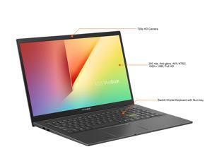 "ASUS VivoBook 15 S513 Thin and Light Laptop, 15.6"" FHD Display, AMD Ryzen 7 5700U Processor, Radeon Graphics, 16GB DDR4 RAM, 1TB PCIe SSD, Fingerprint, Windows 10 Home, Indie Black, S513UA-NS77"