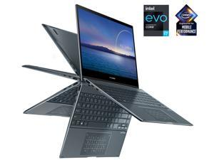 "ASUS ZenBook Flip 13 UX363EA-IH74T Intel Core i7 11th Gen 1165G7 (2.80 GHz) 16 GB LPDDR4X Memory 1 TB PCIe SSD Intel Iris Xe Graphics 13.3"" Touchscreen 1920 x 1080 Convertible 2-in-1 Laptop Windows 10"
