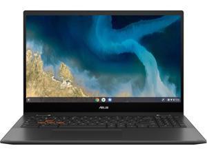 "ASUS Chromebook Flip CM5500FDA-DS344T Chromebook AMD Ryzen 3 3000 Series 3250U (2.60 GHz) 4 GB Memory 64 GB eMMC 15.6"" Touchscreen Chrome OS"