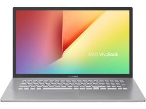 "ASUS VivoBook S17 S712 Thin and Light 17.3"" FHD Display, AMD Ryzen 5 5500U CPU, 8 GB DDR4 RAM, 128 GB PCIe NVMe SSD + 1 TB HDD, Windows 10 Home, Transparent Silver, S712UA-DS54"