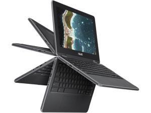 "ASUS Chromebook Flip C213SA-YS02 Grade B Chromebook Intel Celeron N3350 (1.1 GHz) 4 GB Memory 32 GB eMMC SSD 11.6"" Touchscreen Chrome OS"